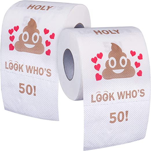Amazon Com 50th Birthday Gifts For Women And Men Funny Toilet