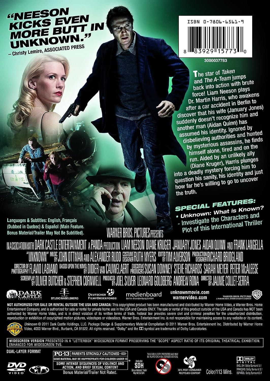 Amazon com: Unknown: Liam Neeson, January Jones, Jaume Collet-Serra