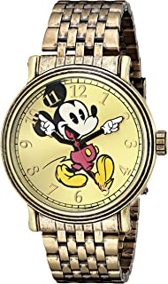ecf6725c59c Amazon.com  Disney Men s MM0060 Two-Tone Mickey Mouse Watch with Day ...