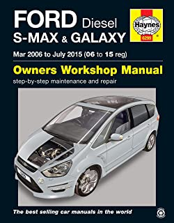 Manual para coches, de Haynes, 6299, para Ford diésel S-Max y