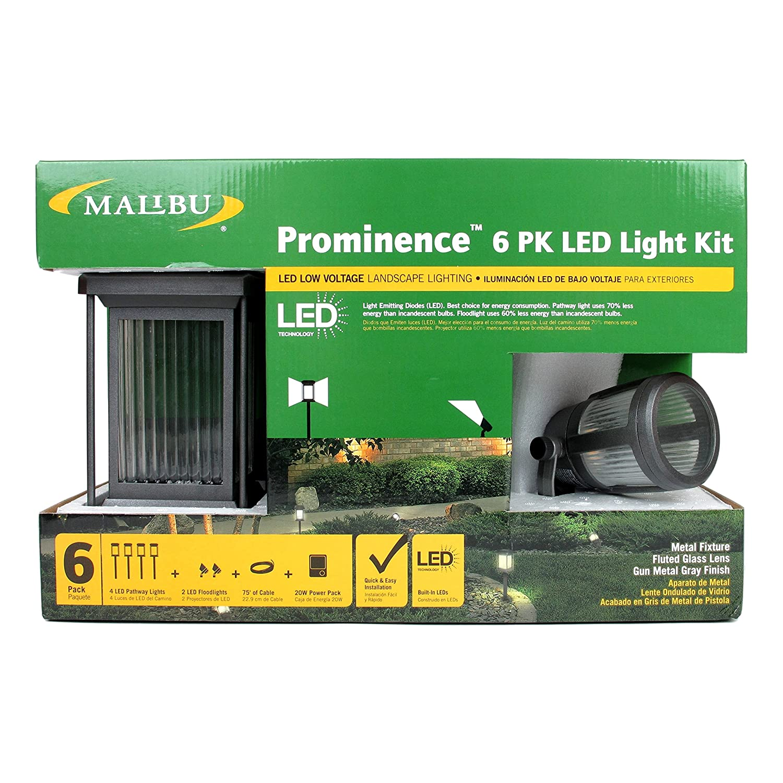 Malibu Prominence 6 Pack LED Light Kit. These Landscape Lights are ...
