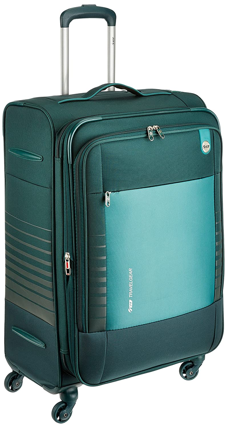 VIP Polyester 52 cms Emerald Green Softsided Suitcase (STORBW81EGN)   Amazon.in  Bags bad24a007300b