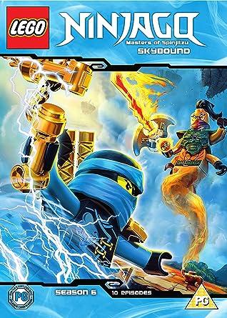 Lego Ninjago Skybound Dvd 2017 Amazoncouk Dan Hageman