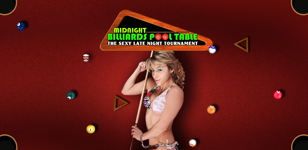 Midnight Billiards Pool Table : The sexy late night tournament ...