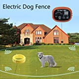 Dr.Tiger 2 Receivers Electric Dog Fence, Invisible Fence For Dogs, Collar Send Beeps and Shock Correction