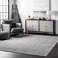 nuLOOM Ripple Contemporary Sherill Area Rug, 10' x 14', Grey, Gray