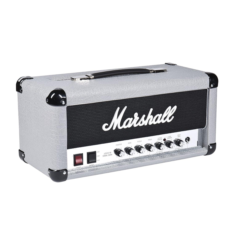 Amplificador guitarra marshall cabezal vintage series 20w silver jubilee: Amazon.es: Instrumentos musicales