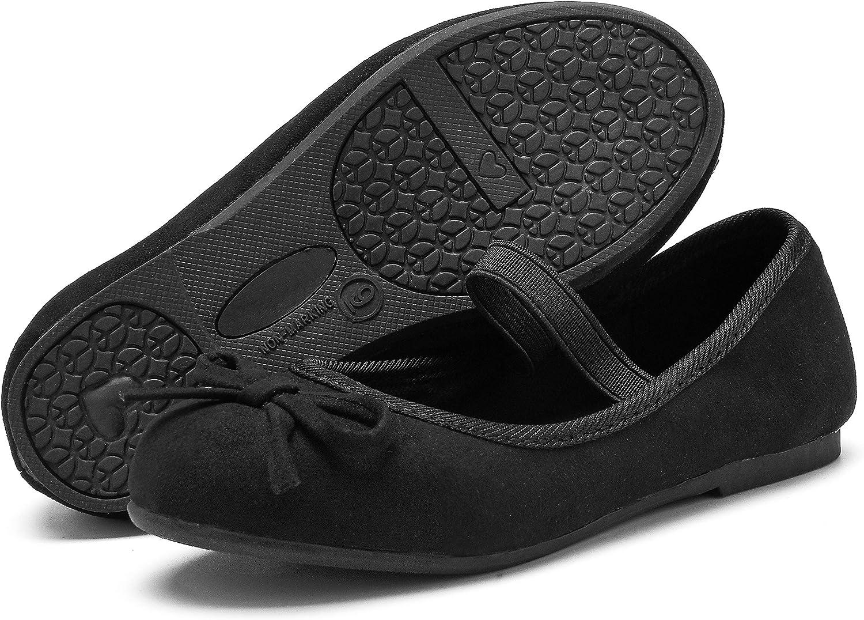 Little//Toddler Girls Shoes//Big Kids//Women WOBAOS Girls Ballerina Flat Shoes Mary Jane Dress Shoes