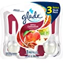 3-Count Glade Plugins Scented Oil 2.01-Oz Air Freshener