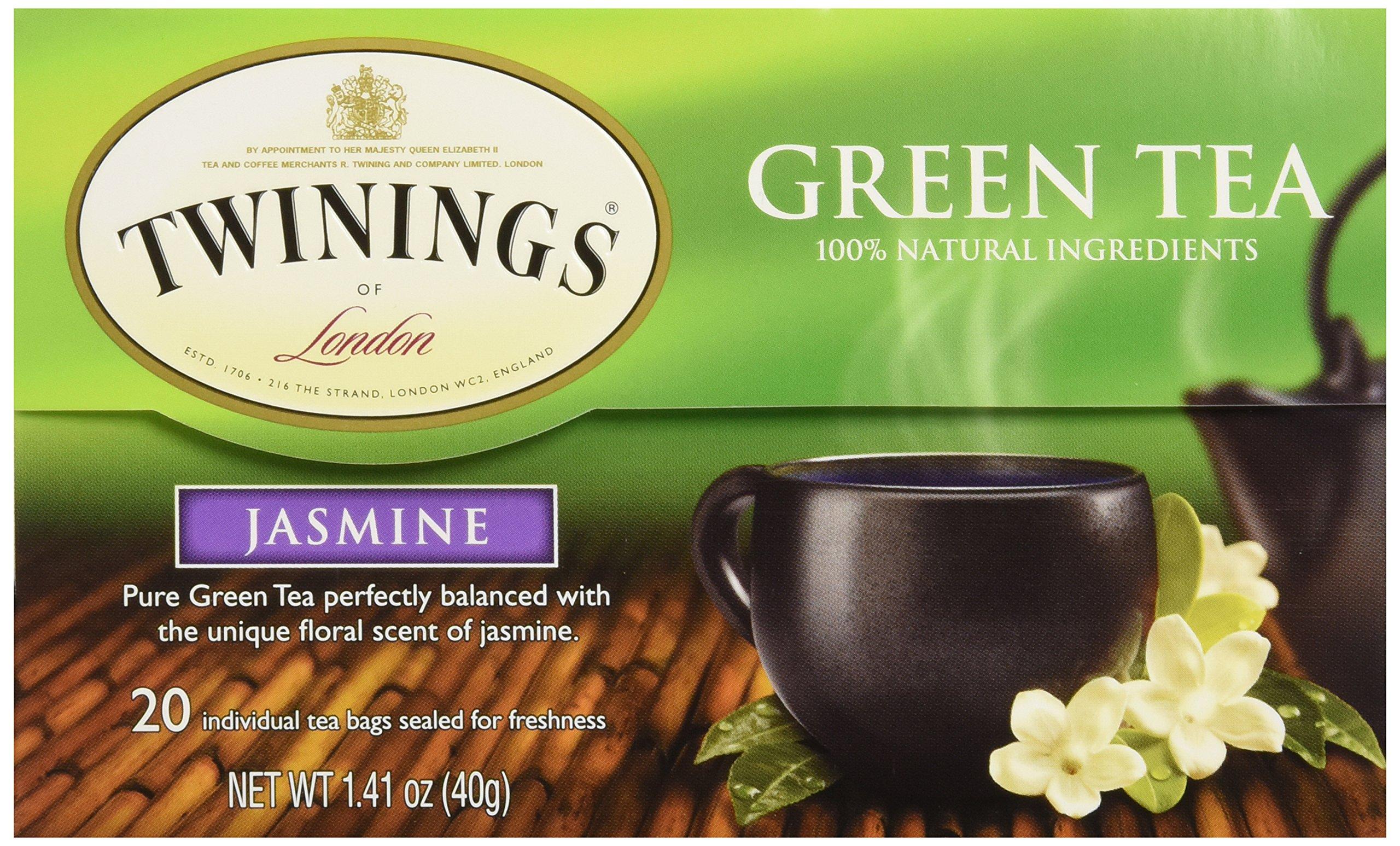 Twinings Tea Green Jasmine Tea, 20 ct