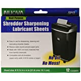 Amazon Price History for:Nuova SP12 Shredder Sharpening & Lubricant Sheets, 12 Count