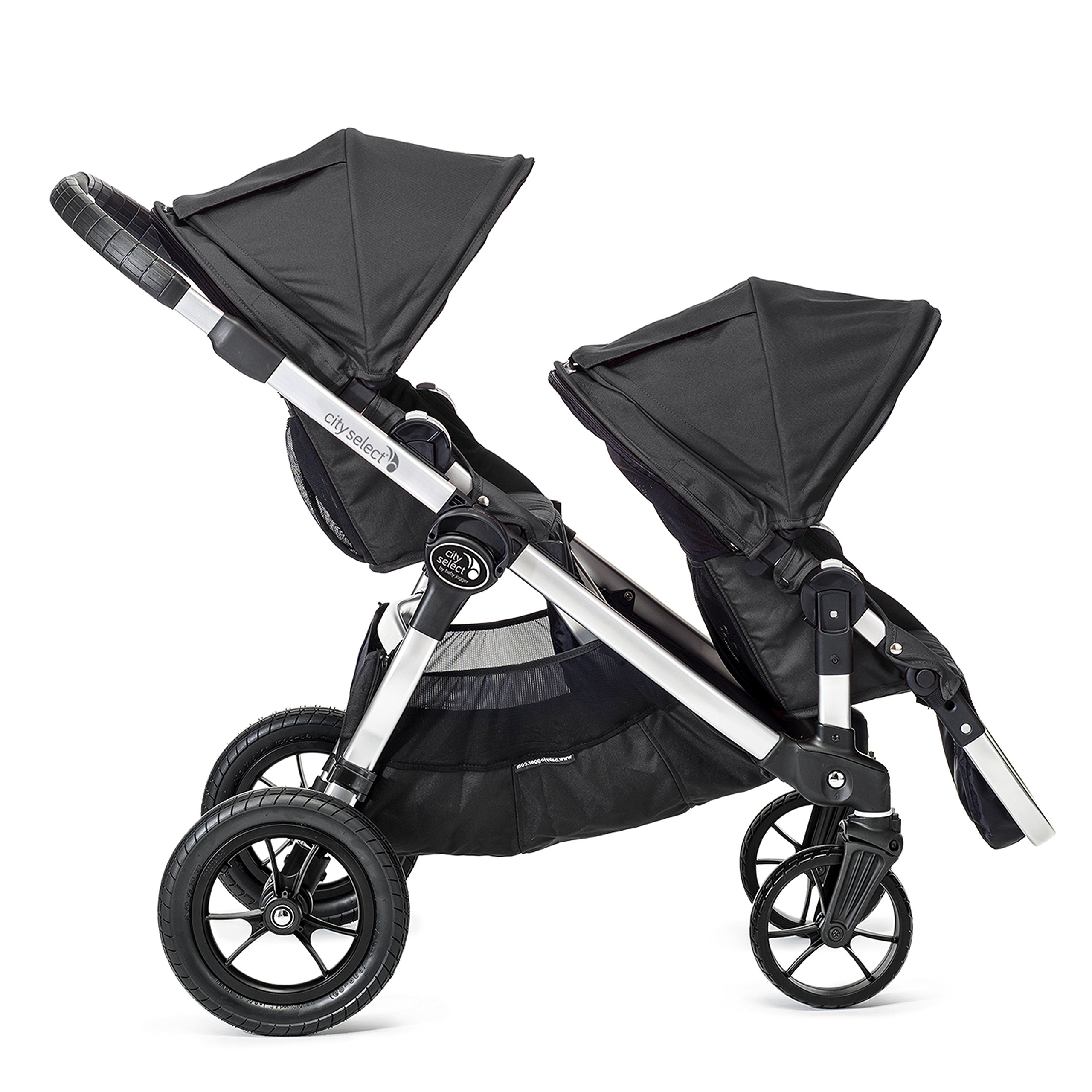 Baby Jogger City Select Second Seat Kit with Silver Frame, Onyx by Baby Jogger (Image #5)