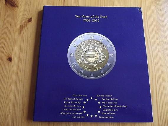 Leuchtturm 341622 Álbum para Monedas PRESSO, Euro-Collection para Monedas de 2 Euros DEK: Amazon.es: Juguetes y juegos