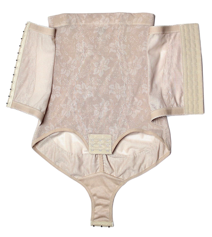 shaperqueen 1010 mujeres mejor faja cintura Cincher panza entrenador cuerpo corsé Shapewear - Beige - : Amazon.es: Ropa y accesorios