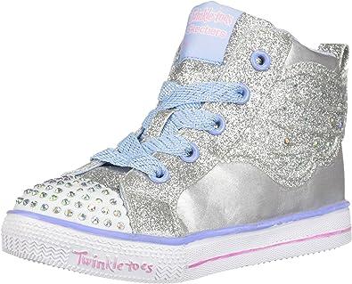 Skechers Kids Twinkle Lite-Dainty Dots Sneaker
