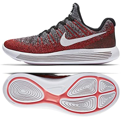 Nike LunarEpic Low Flyknit 2 863779-005 Hyper Punch/White Men's Running Shoes