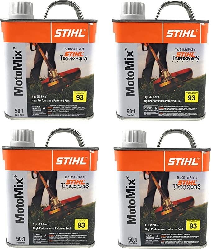 Amazon.com: Funda de 1/4 cuarto Stihl motomix 50: 1 Mix 2 ...