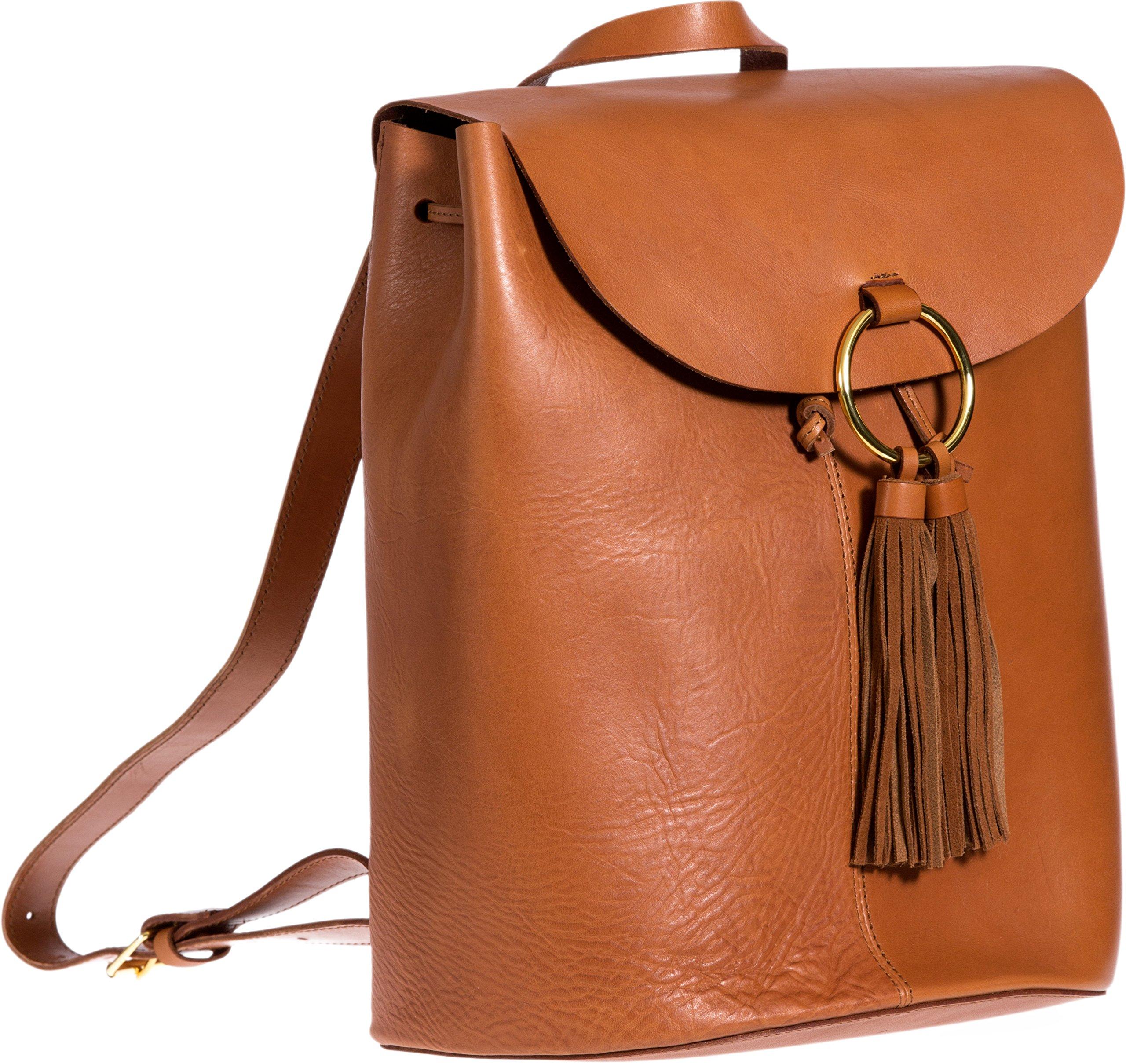 Horizon Argentine Leather Backpack Handbag by Overland Sheepskin Co