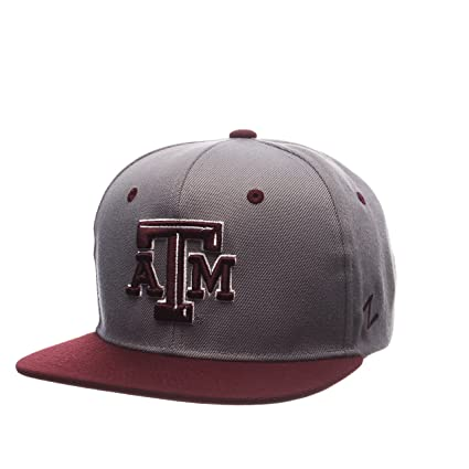 c92f53c67feb4 Image Unavailable. Image not available for. Color  ZHATS NCAA Texas A M  Aggies Men s Z11 Slate Snapback Hat ...