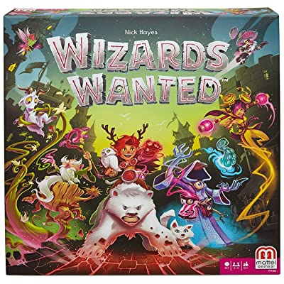 Wizards Wanted Strategy Board Game: Toys & Games