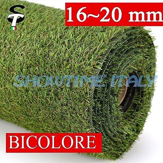 35 opinioni per Prato sintetico 20mm calpestabile finta erba tappeto manto giardino esterno 2
