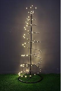 Weihnachtsbaum aus metall mit led
