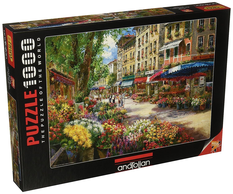 1000ピース ジグソーパズル Perre Group パリのフラワーマーケット Park: Paris Park: Flower 1000ピース Flower Market 48×66cm 3106 B00AEDZ1PC, 転ばぬ先の杖のお店 Shop Zen:e42d422b --- sharoshka.org