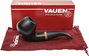 Vauen Olaf 1815 Smooth Finish Tobacco Pipe - 9mm