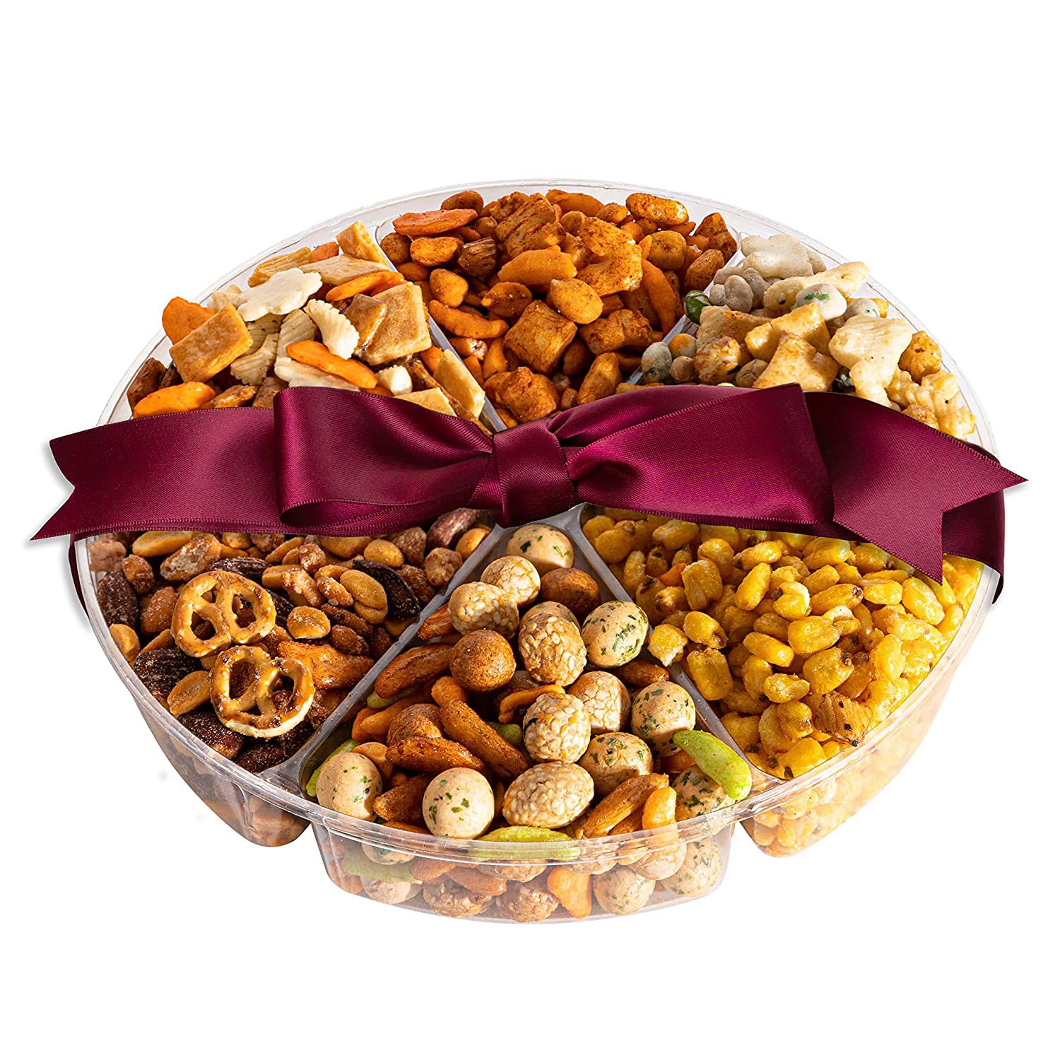 Simple Nuts Holiday Gift Baskets | Assorted Nuts Care Package, Ultra Fresh Nuts, Never Stale | Gourmet Food Snack Gift for Holidays, Christmas, Get Well, New Year's & More | Fast, Secure Shipping