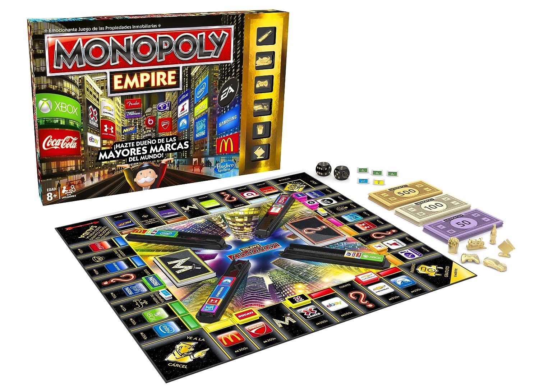 Monopoly Juegos en Familia Hasbro - Juego Imperio (A4770105)