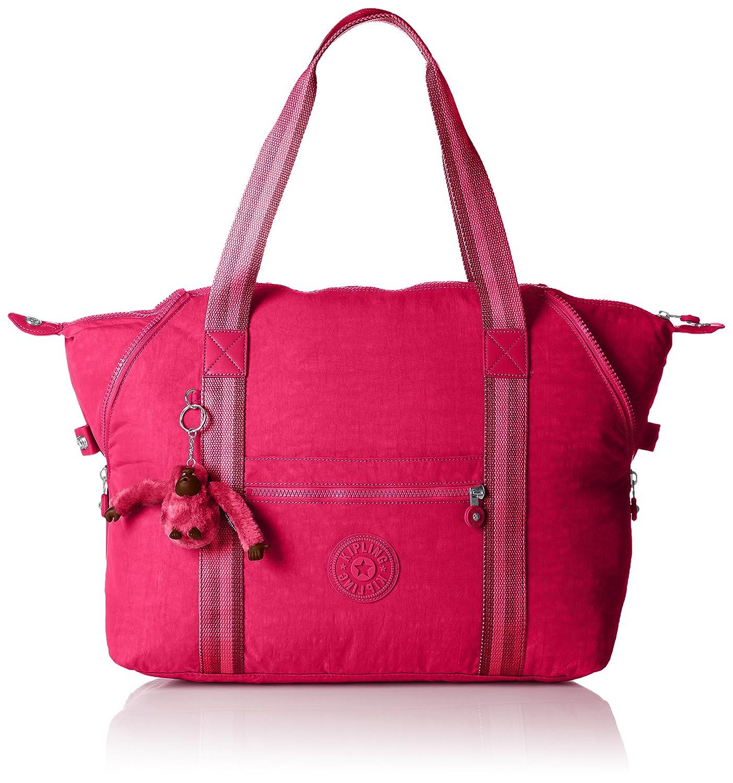 2cc3f781cc Amazon.com | Kipling Art M, Medium Travel Tote, 58 cm, 26 liters, Pink  (Cherry Pink C) | Travel Totes