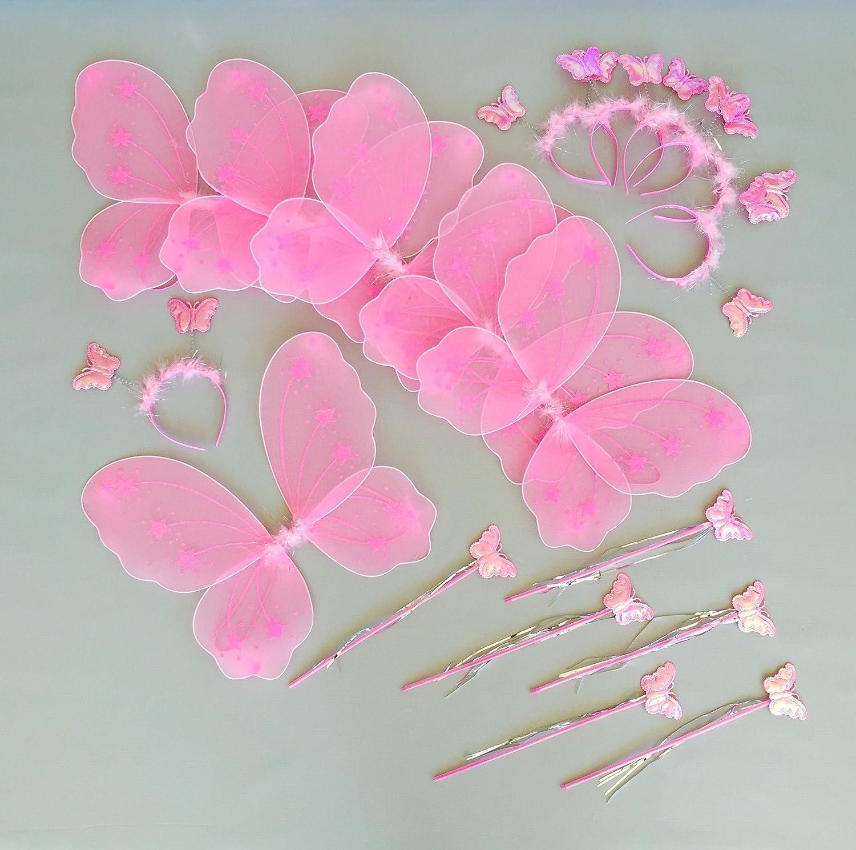 Amazon Butterfly Craze Heart To Heart Wings Wand 6 Set