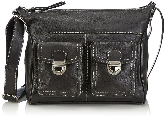 Bruno Banani Shoulder Bag, sacs bandoulière femmeMarronMarron, 29x24x13 cm (B x H x T) EU