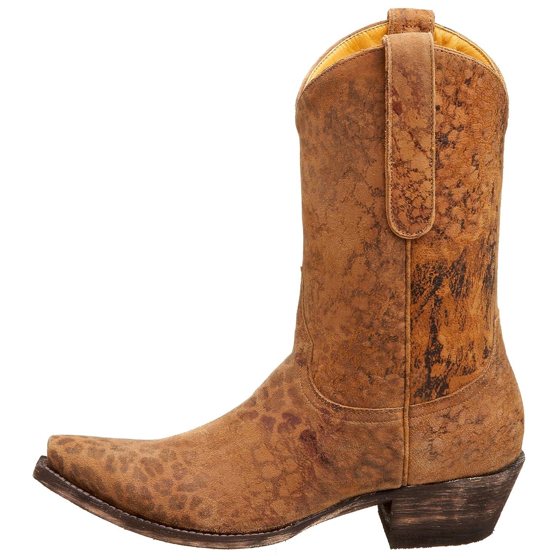 25bd7c0f30a Old Gringo Women's L168-1 Leopardito Cowboy Boot