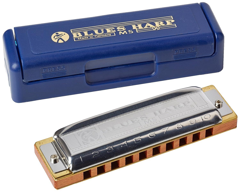Hohner Blues Harp M533056 - Armónica en clave de Mi HH532E