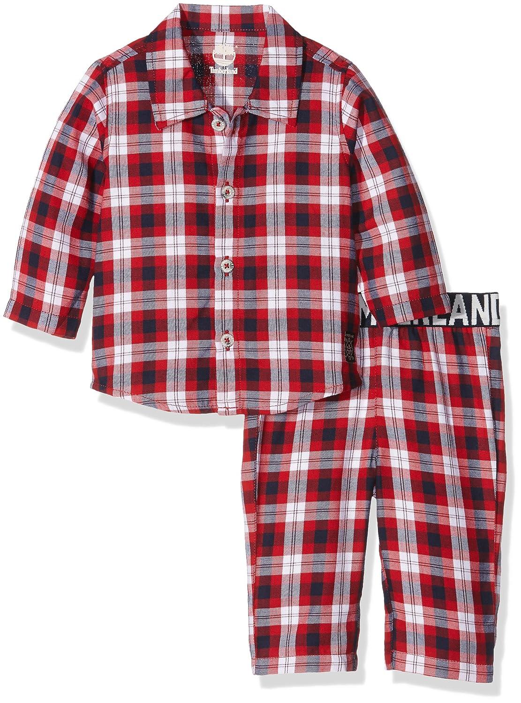 Timberland Baby-Jungen Zweiteiliger Schlafanzug T08147 Pyjamas