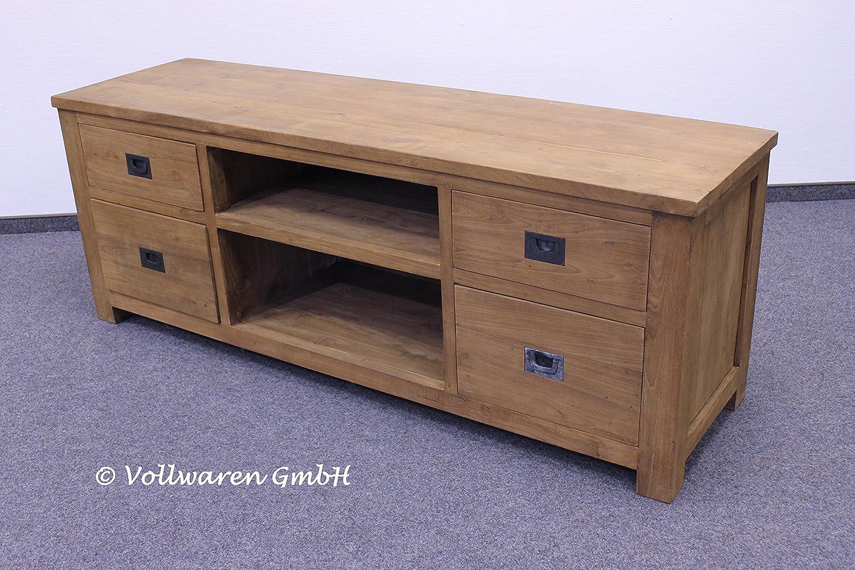 Teca-Town teca mesa nido para televisor cómoda SE69-2 donhütte ...