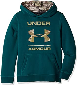 Under Armour camiseta de camuflaje Fill Logo sudadera con capucha - 1297457, Arden Green/Army Tan: Amazon.es: Deportes y aire libre
