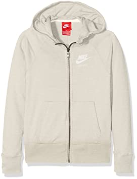 e0a9df43ab Nike g NSW VNTG FZ Sweat, Filles: Amazon.fr: Sports et Loisirs