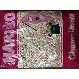 Haribo Chamallows Mini rose et blanc, rétro bonbons pour enfants - 1 kg