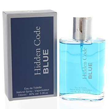 HiddenCode Blue Mens Fragrance Eau De Toilette Spray New Pour Homme 100ml e3c443751a2a8