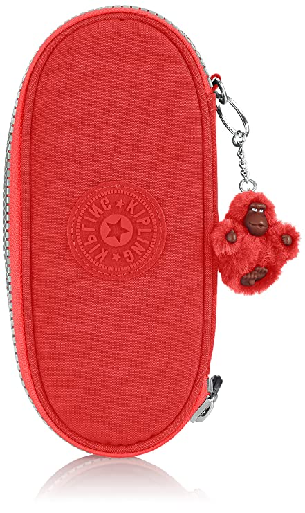 Kipling Duobox Estuche, Color Naranja (Sugar Orange C ...