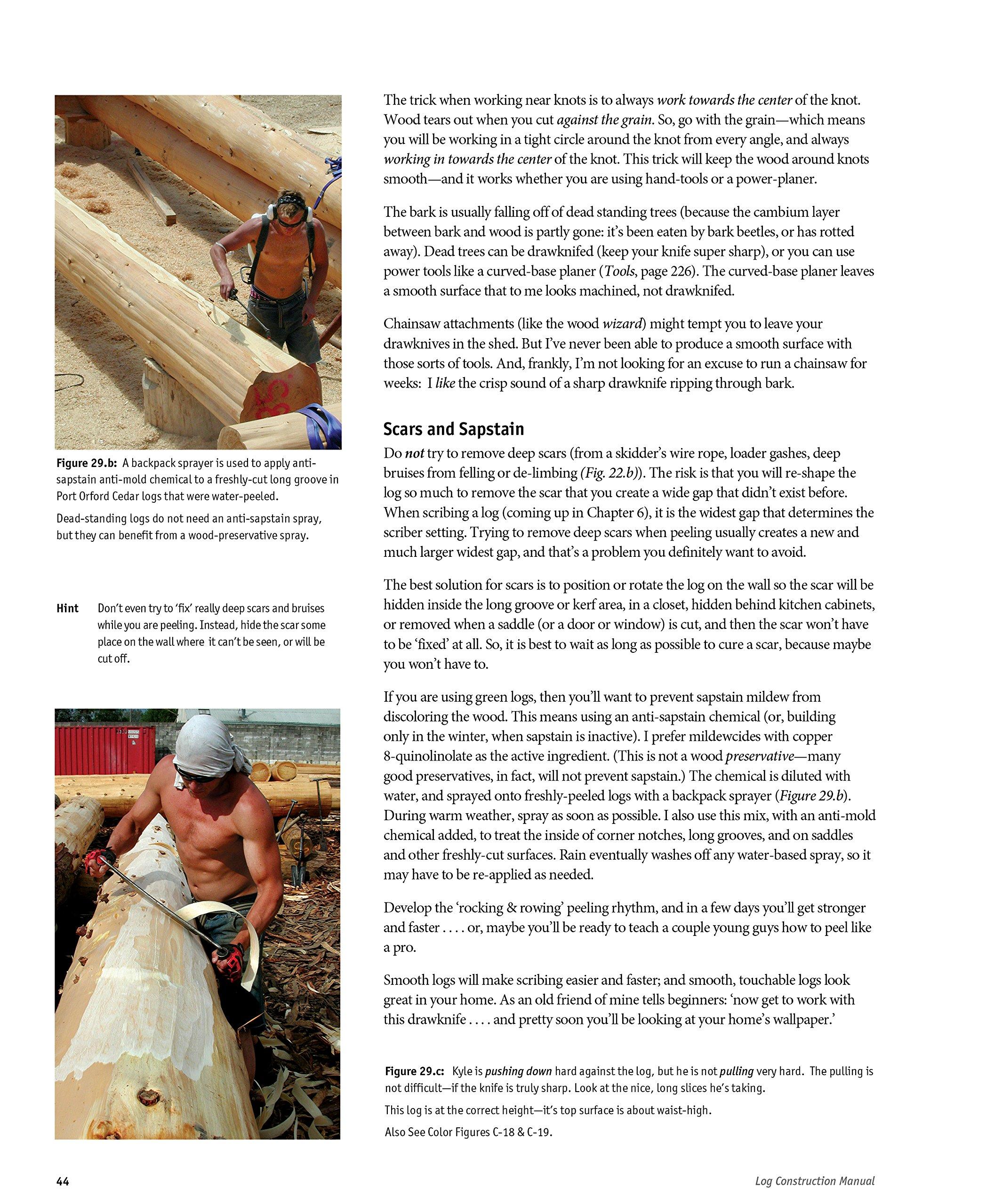 Log Construction Manual - Full Color Edition: Robert W