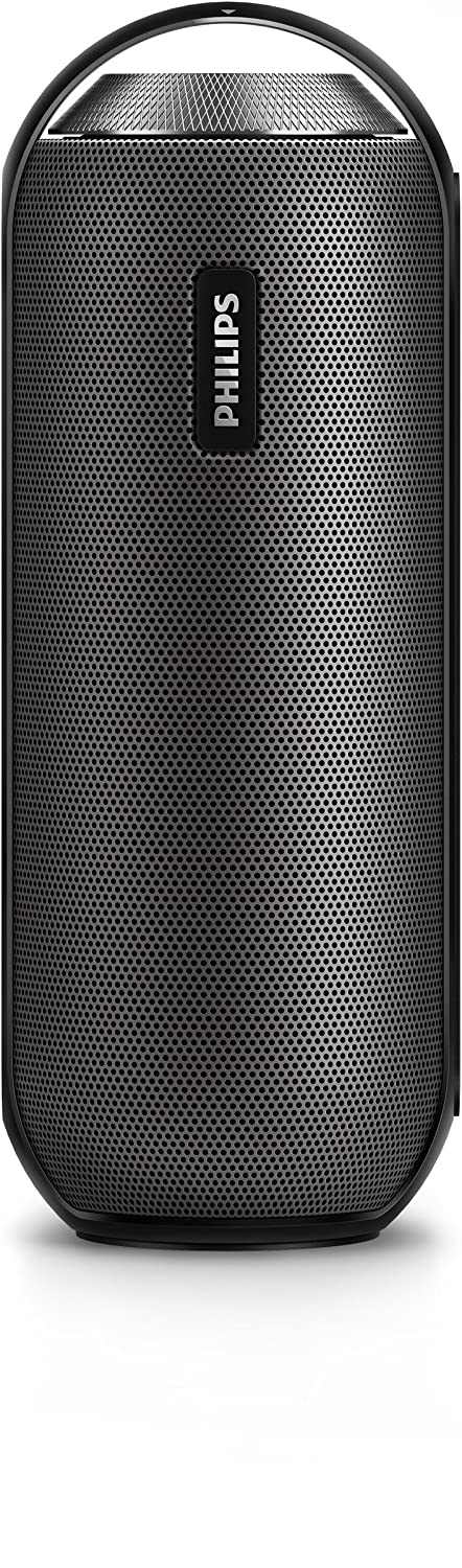 Philips BT6000 - Altavoz portátil (Bluetooth, 2 x 6 W, NFC, micrófono) color negro: Philips: Amazon.es: Electrónica