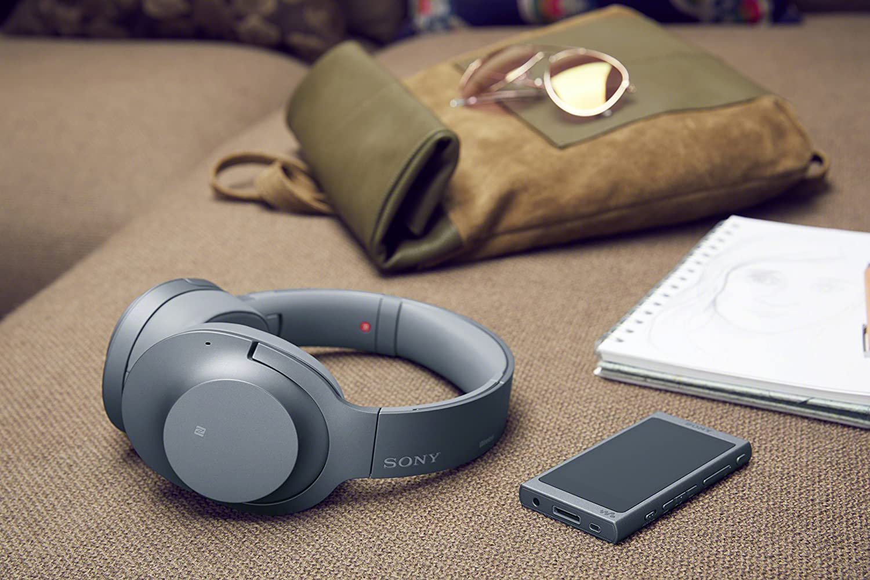 Rojo Sony WHH900N Auriculares de Diadema inal/ámbricos H.Ear, Hi-Res Audio, cancelaci/ón de Ruido, Sense Engine, Bluetooth, Compatible con aplicaci/ón Headphones Connect
