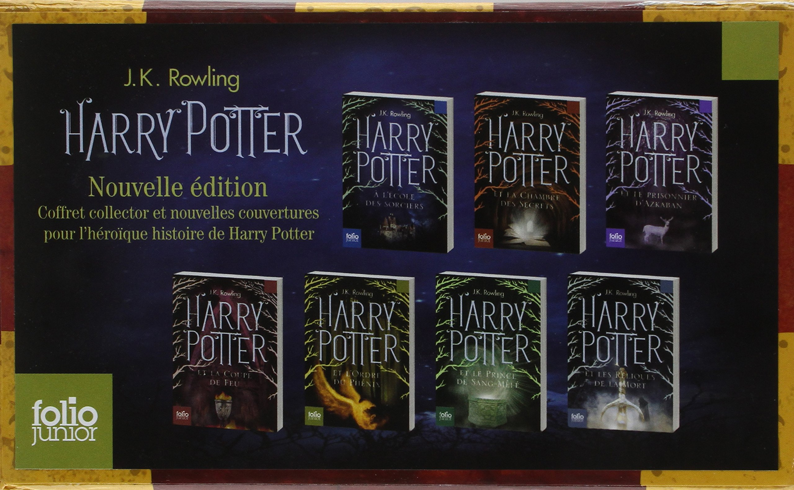 Amazon In Buy Harry Potter Coffret Seven Titles French