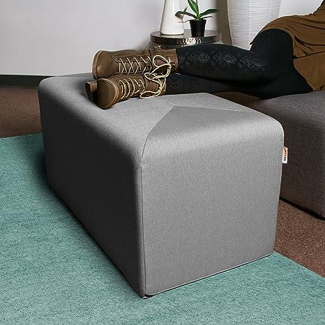 Groovy Amazon Com Jaxx Monroe Large Rectangular Foam Ottoman Ncnpc Chair Design For Home Ncnpcorg