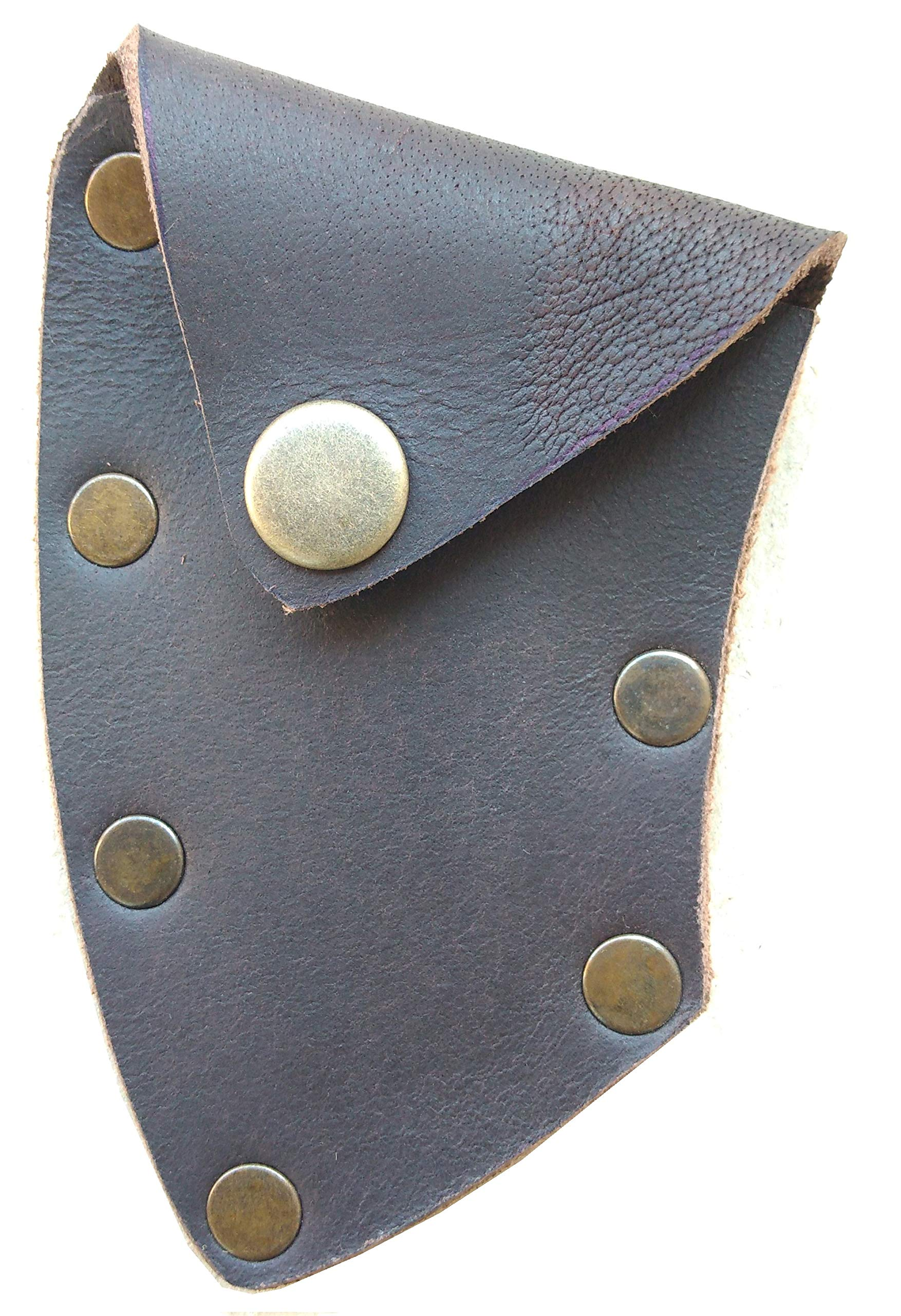 Leather sheath for the small axe