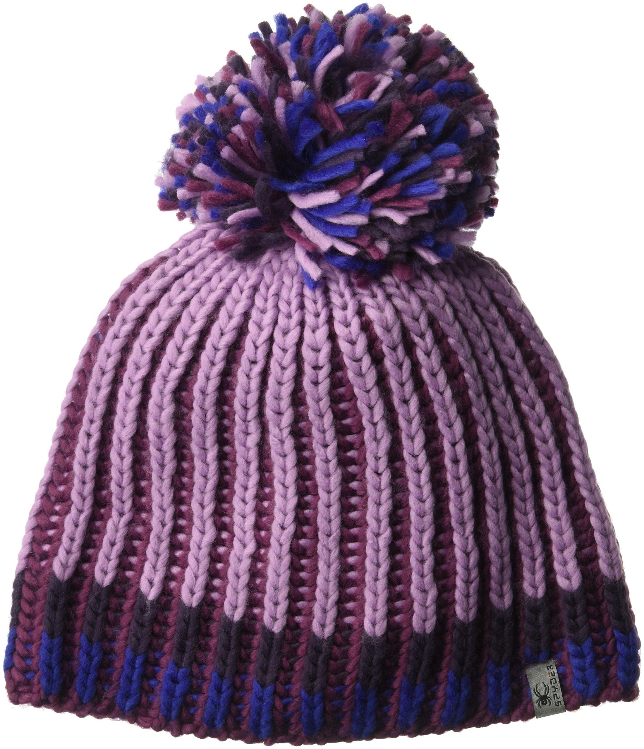 Spyder Women's Outburst Hat, AMARANTH/GRAPE/NIGHTSHADE/BLUE MY MIND, ONE SIZE