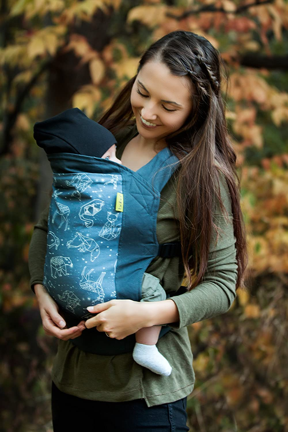 Boba 4G Buckle Baby and Toddler Carrier | Front and Back